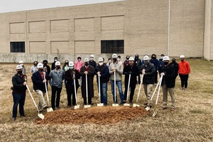 Ground-breaking Ceremony held for the future Fine Arts Center