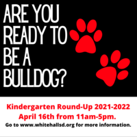 Kindergarten Round-Up is Scheduled for April 16th