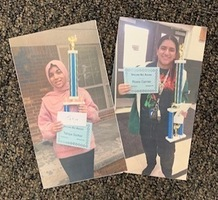 Co-District Spelling Bee Winners